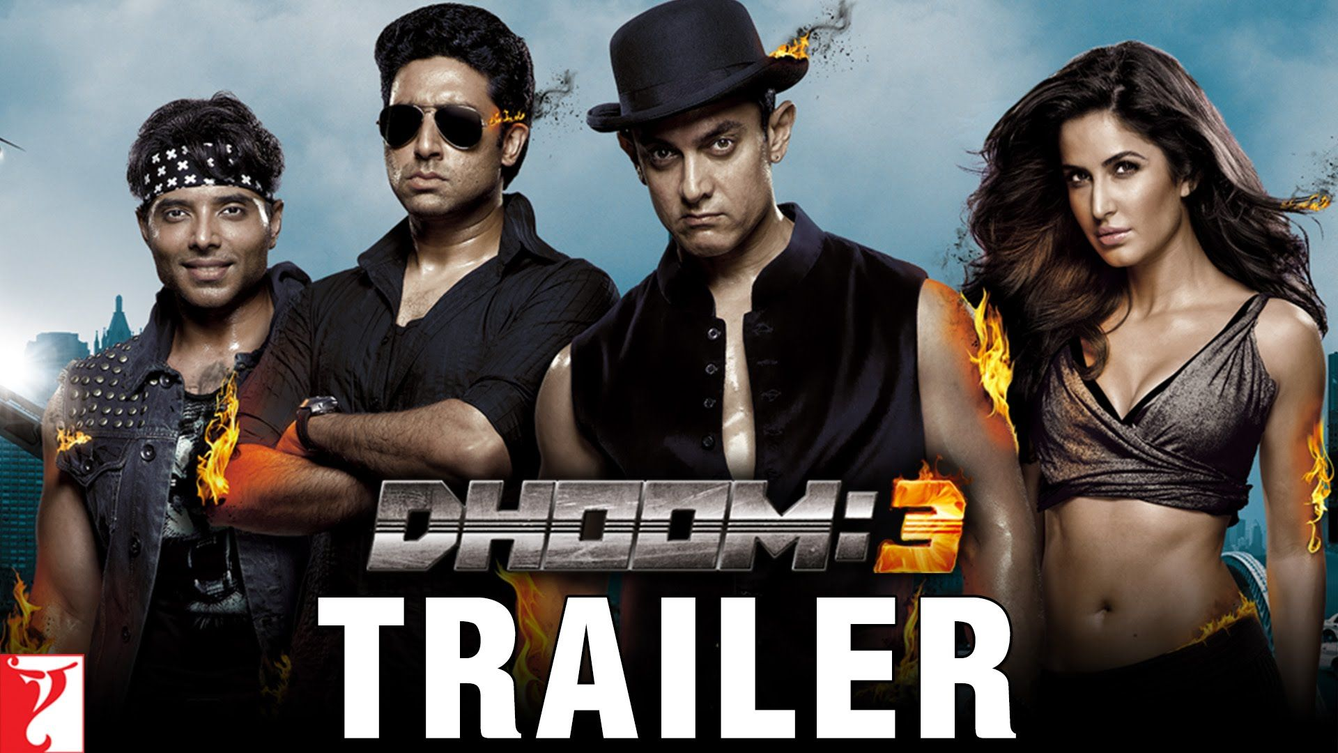 DHOOM3 Trailer Dhoom 3, Movies coming soon,
