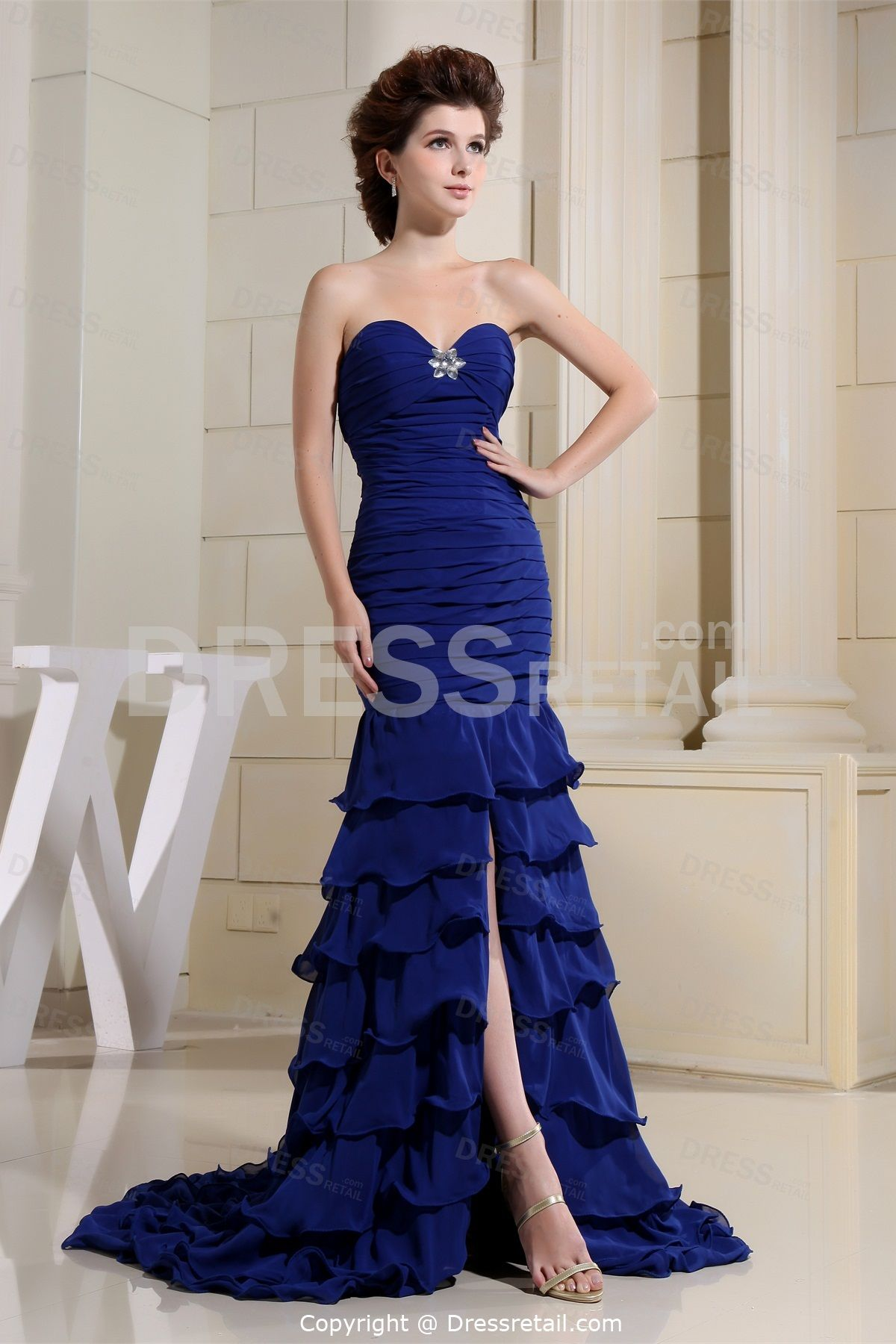 Royal Blue Pageant Dresses