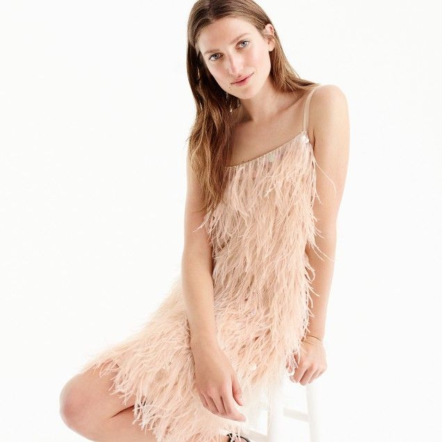 Feather Dresses for Women