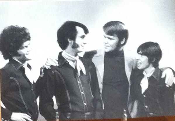 The Monkees on the Glen Campbell Goodtime Hour. Thank you Glen for sharing your music with us. ❤️