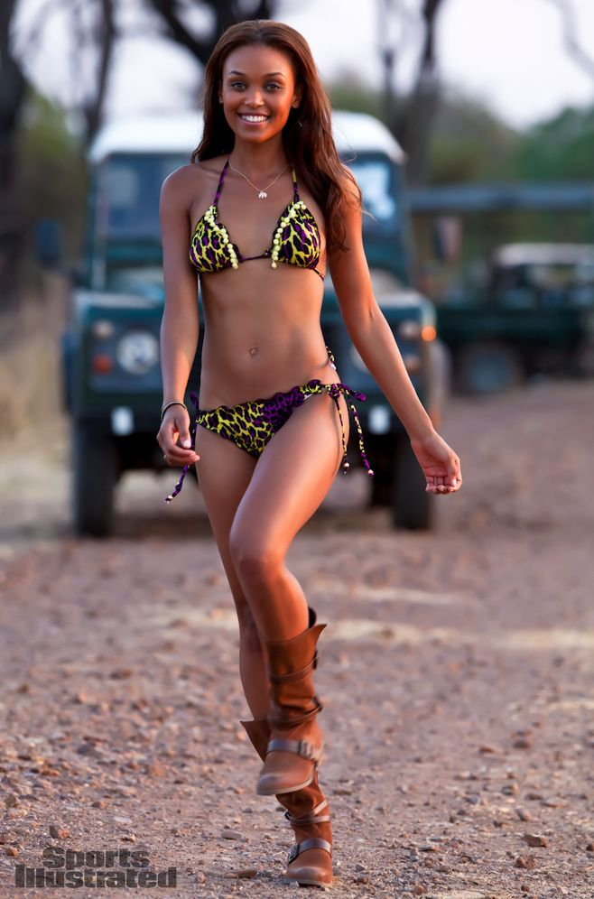 Kirby Griffin Sports Illustrated Swimsuit Location Livingstone Zambia Royal