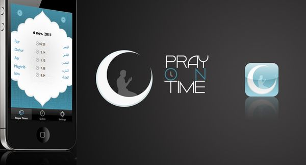 Pray on time by youssef koulouch, via Behance