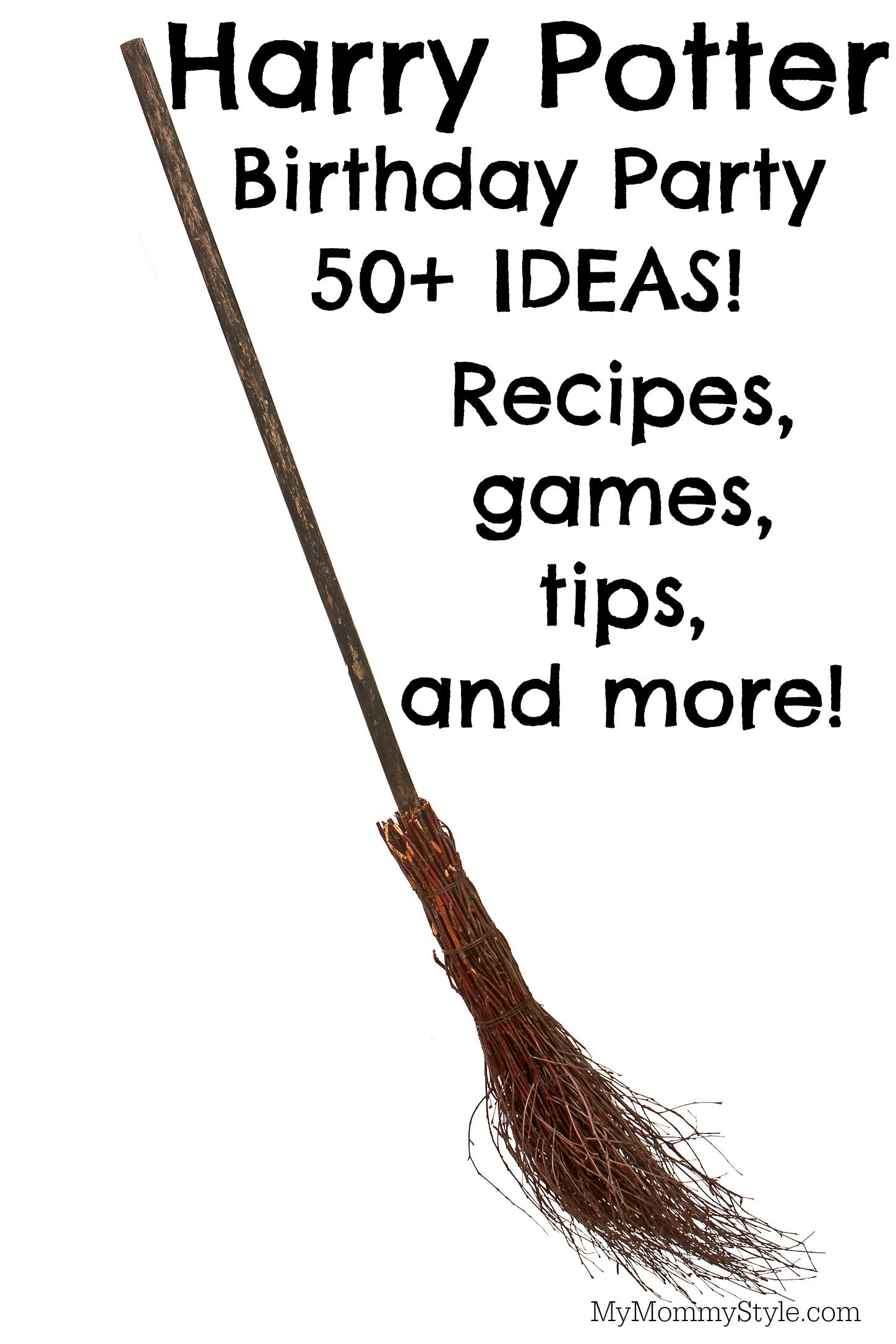 Planning a Harry Potter Birthday Party: Recipes, Tips, and more ...