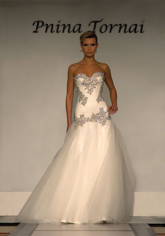 Pnina Tornai Dream Bodice Now Just Need A Different Fabric Wedding Dress