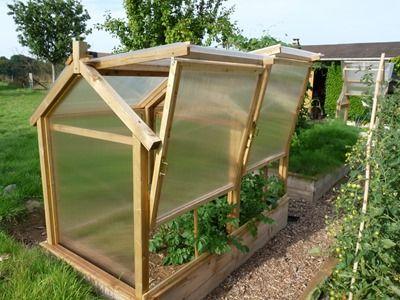 serre 1m20 par 2m40 pour le potager en carre | serre de jardin
