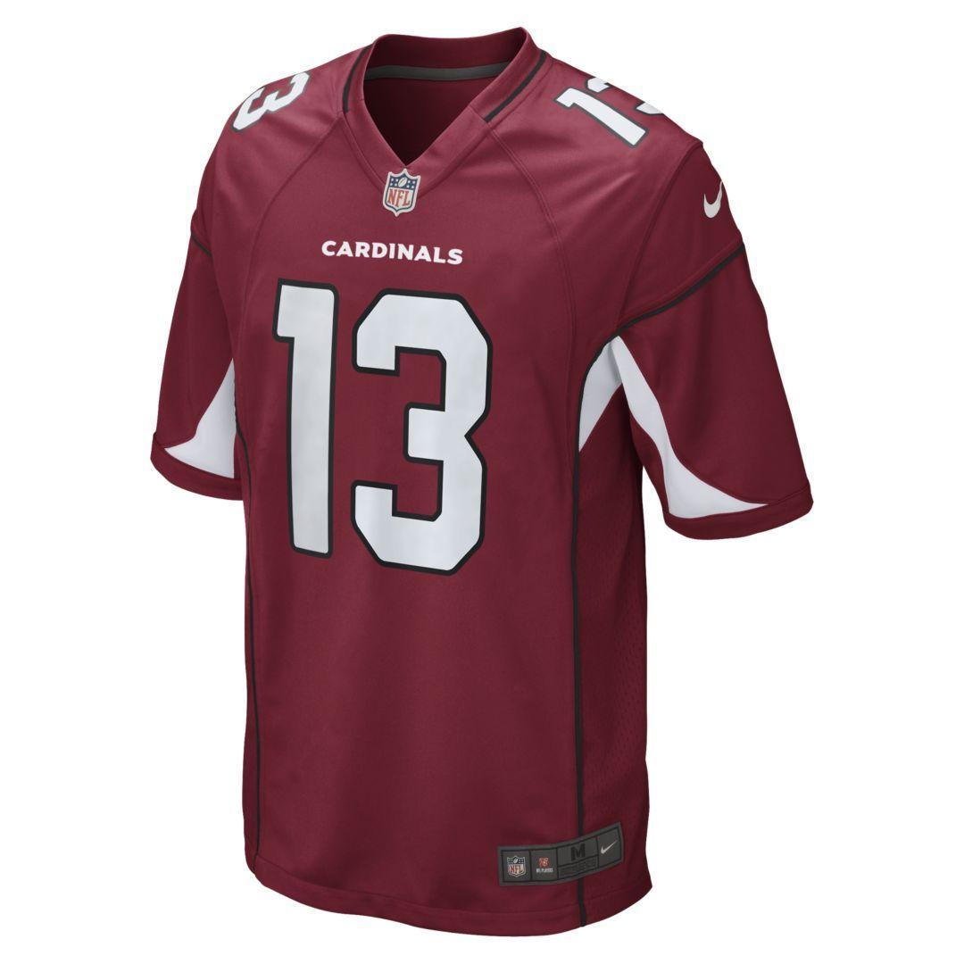 NFL Arizona Cardinals (Kurt Warner) Men s Football Home Game Jersey Size M  (Tough Red) 5188c0c38