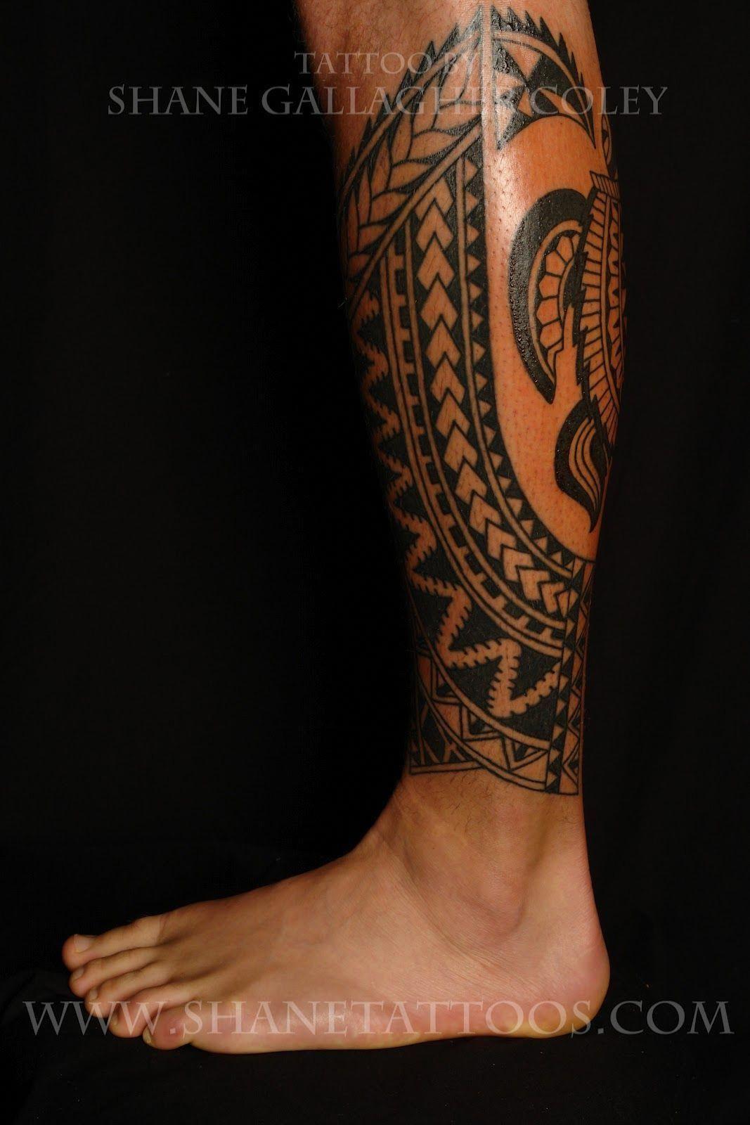 MAORI POLYNESIAN TATTOO: Rotuman Calf Tattoo #Maoritattoos ...
