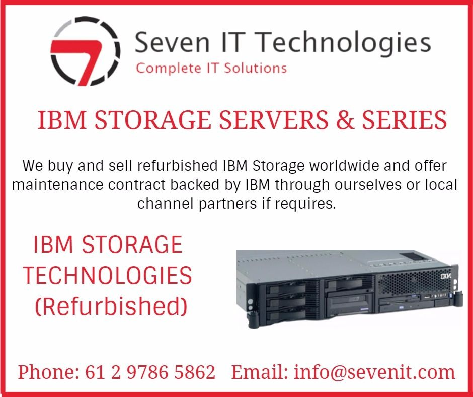 Ibm Storage Servers Series We Buy And Sell Refurbished Ibm Storage