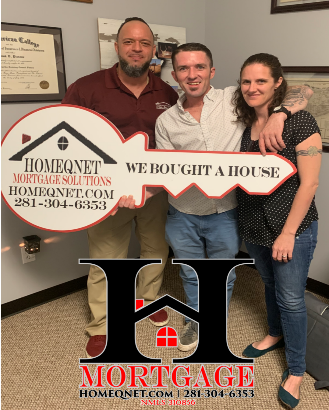 Congratulations To The Eckenfels On Their Home Purchase Thanks