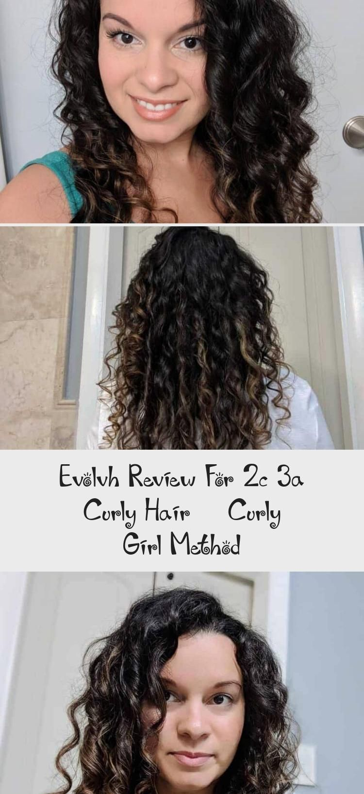 Evolvh Review For 2c 3a Curly Hair Curly Girl Method Curly
