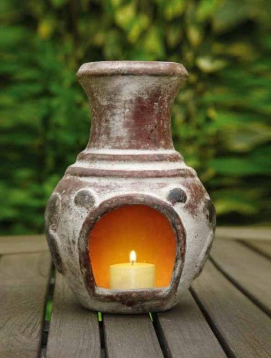Mini Candle Chiminea