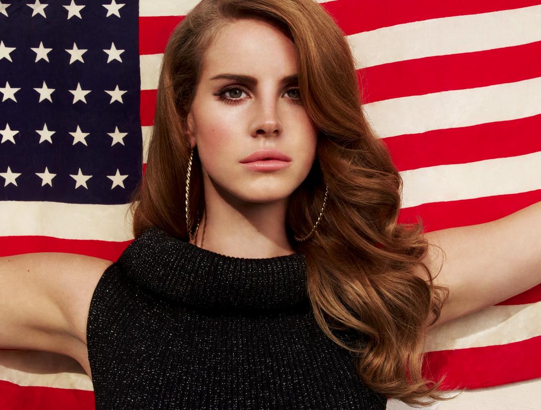 Lana Del Rey Usa Flag Lana Del Rey Concert Lana Del Rey Lana Del Ray