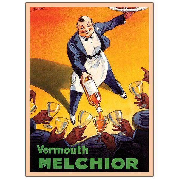 Wholesale Vermouth Melchior by Dorfi-Framed 24x32 Canvas Art (SKU ...