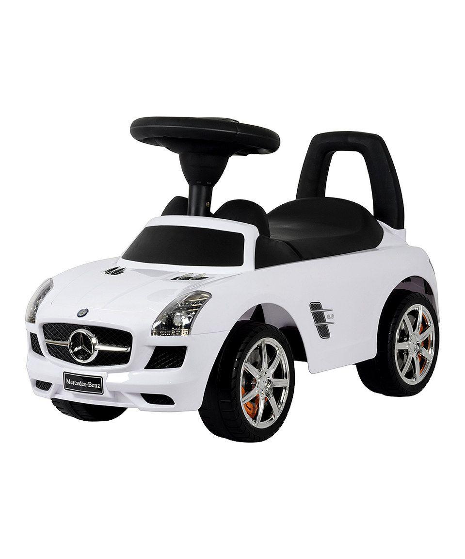 Loving this White Mercedes Push Car on #zulily! #zulilyfinds