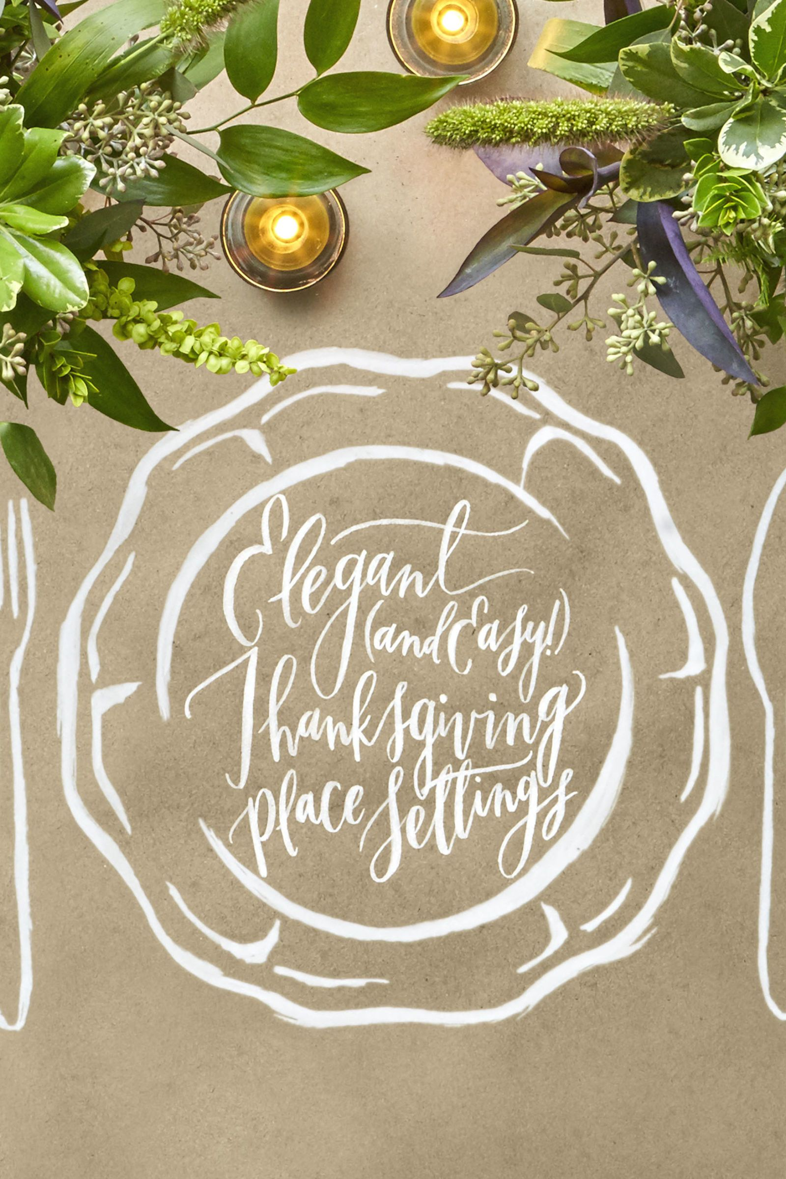 40 Elegant and Easy Thanksgiving Table Settings