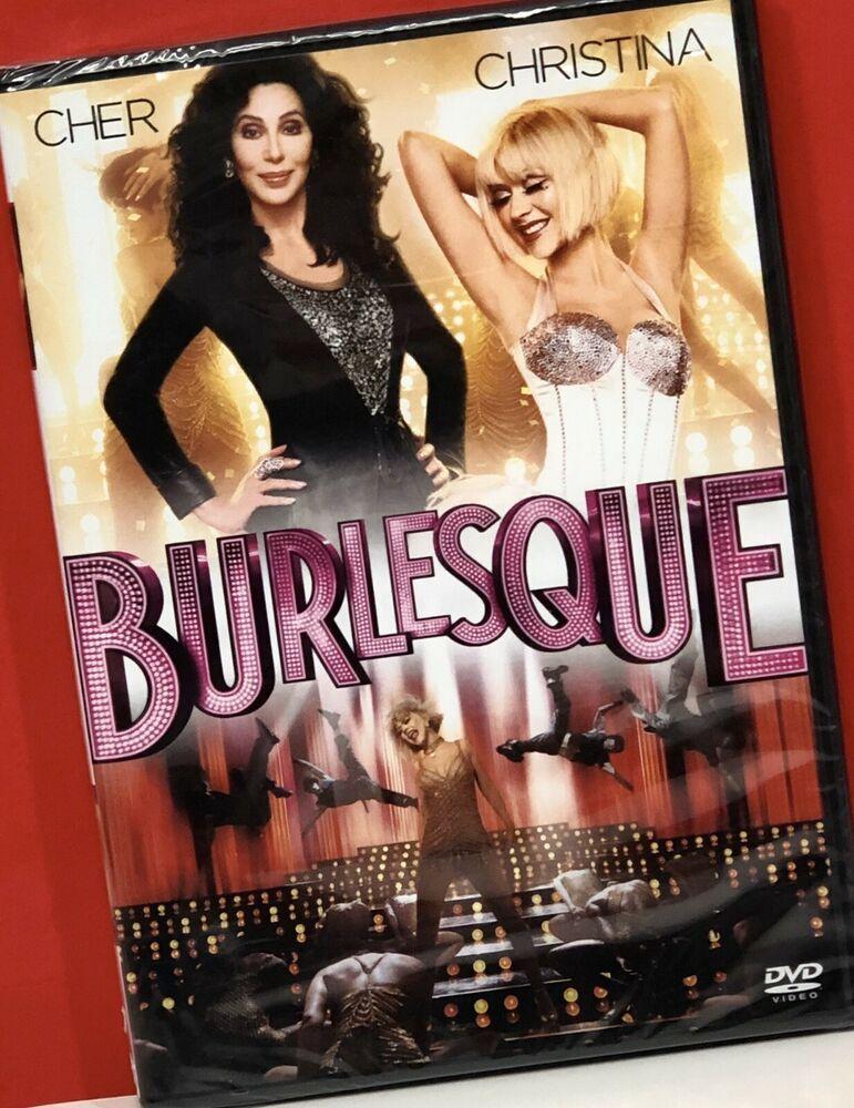 Burlesque Dvd 2011 New Sealed Cher Christina Aguilera