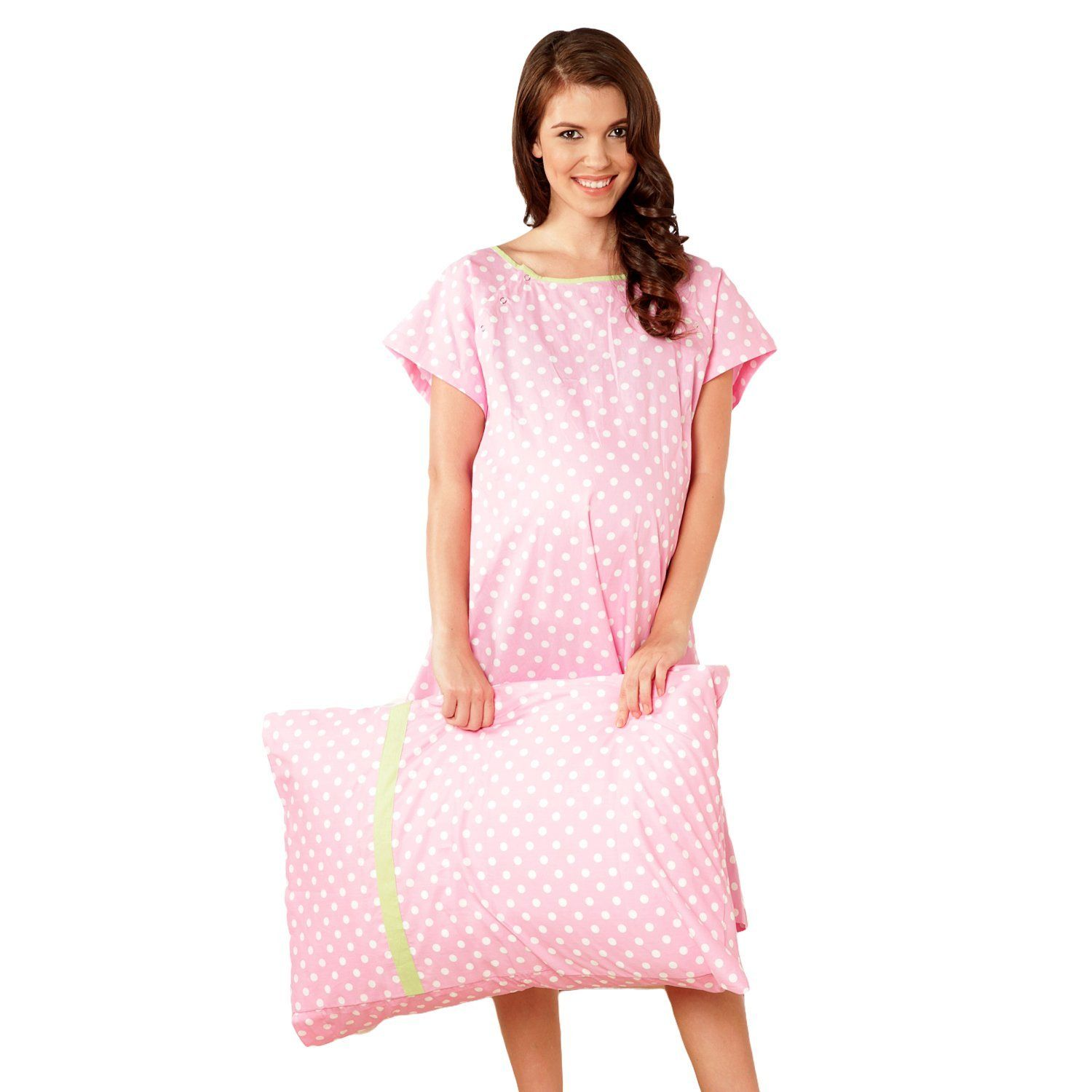 770544a42de28 Gownies - Delivery Maternity Hospital Gown Labor Kit at Amazon Women's  Clothing store: