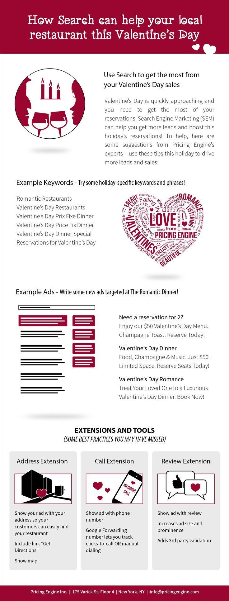 Valentine's Day Restaurant Marketing Ideas Valentines