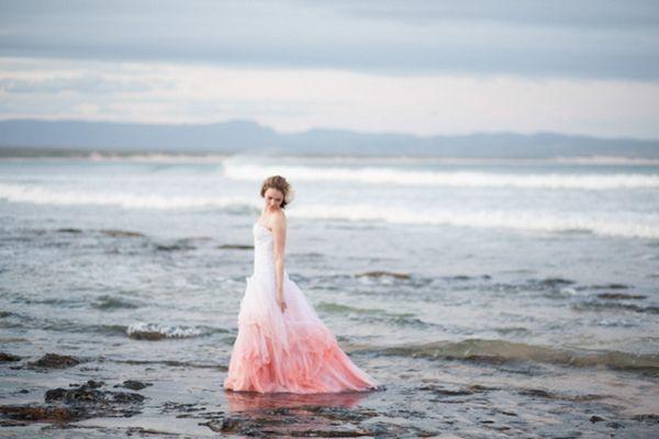 30 Head-Over-Heels Romantic Watercolor Wedding Gowns