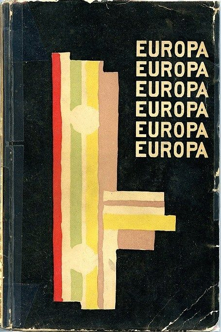 Fernand Leger. Cover illustration for Europa almanach, edited by Carl Einstein & Paul Westheim. - Potsdam: Gustav Kiepenheuer, 1925.    [source]