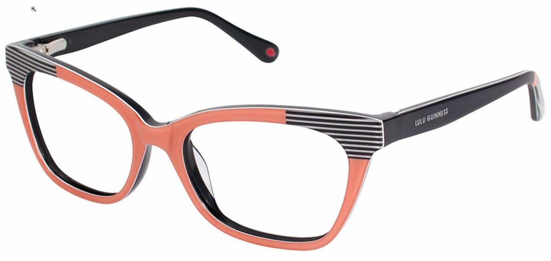 Lulu Guinness L898 Eyeglasses | Lulu guinness, Guinness and Eyeglass ...