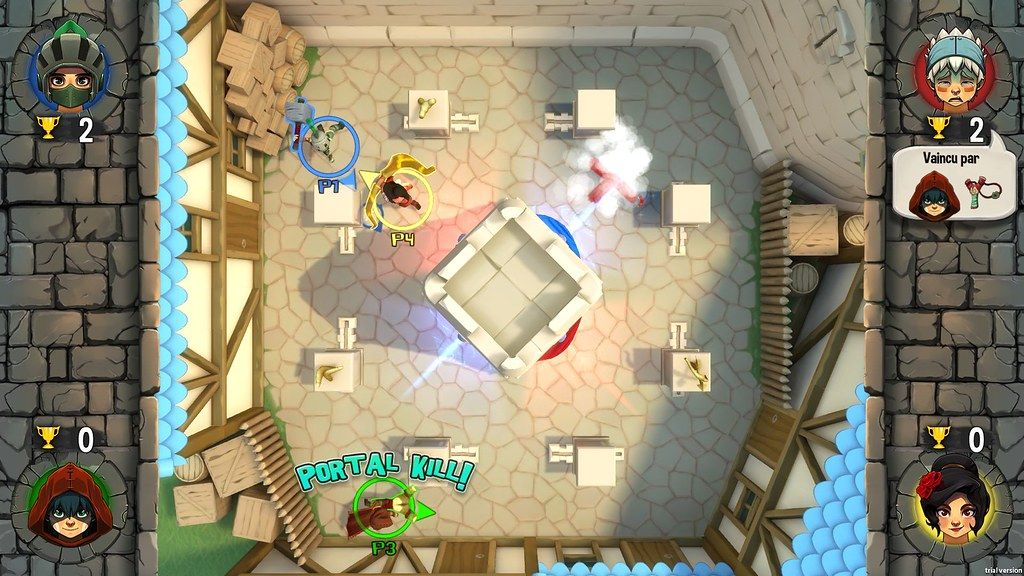 Top Down Couch Co Op Shooter Wondershot Announced For Ps4 Design