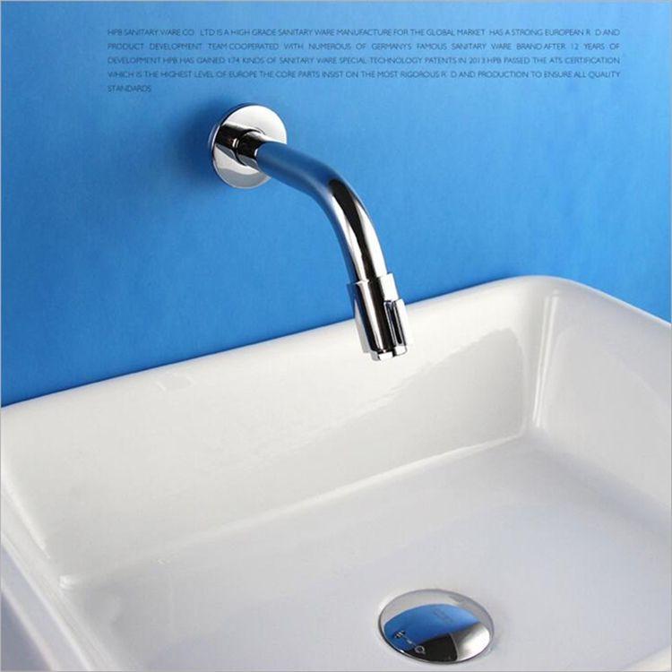 壁付水栓 洗面蛇口 バス水栓 浴室蛇口 冷熱混合水栓 水道金具 クロム Fttb008 洗面 水栓 蛇口