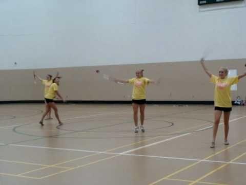 UAB majorette camp routine | Majorette, Baton twirling ...