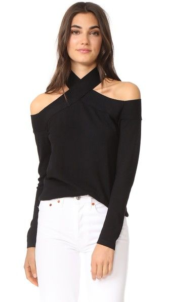 c7efc8b8f2d92 Buy Black Fred and Sibel Top off shoulder for woman at best price. Compare  Tops prices from online stores like Shopbop - Wossel Global