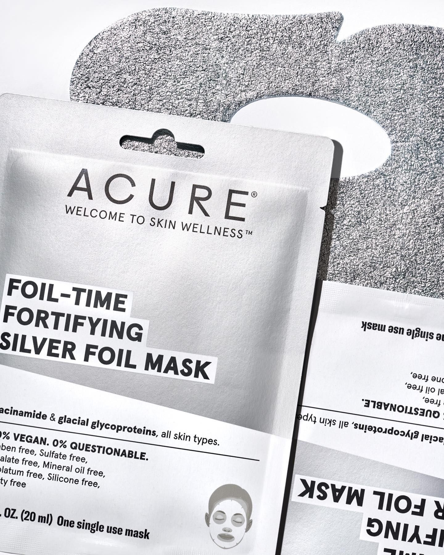 Foil-time Fortifying Silver Foil Mask In 2020