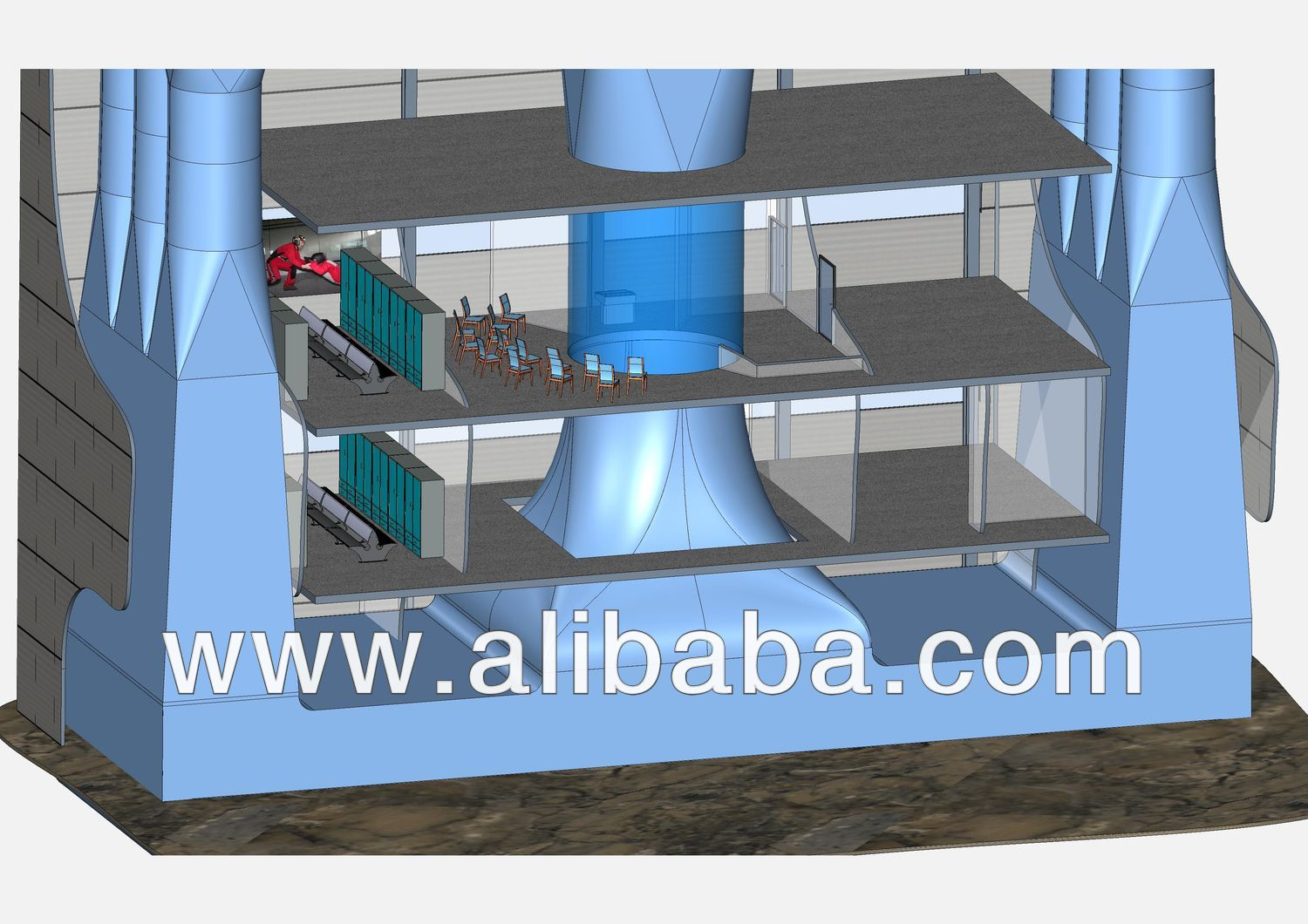 Free Fall Simulator Vertical Wind Tunnel For Indoor Skydiving Vwt Ffs 4372 Find Complete Details About Free Indoor Skydiving Water Play Equipment Indoor Fun
