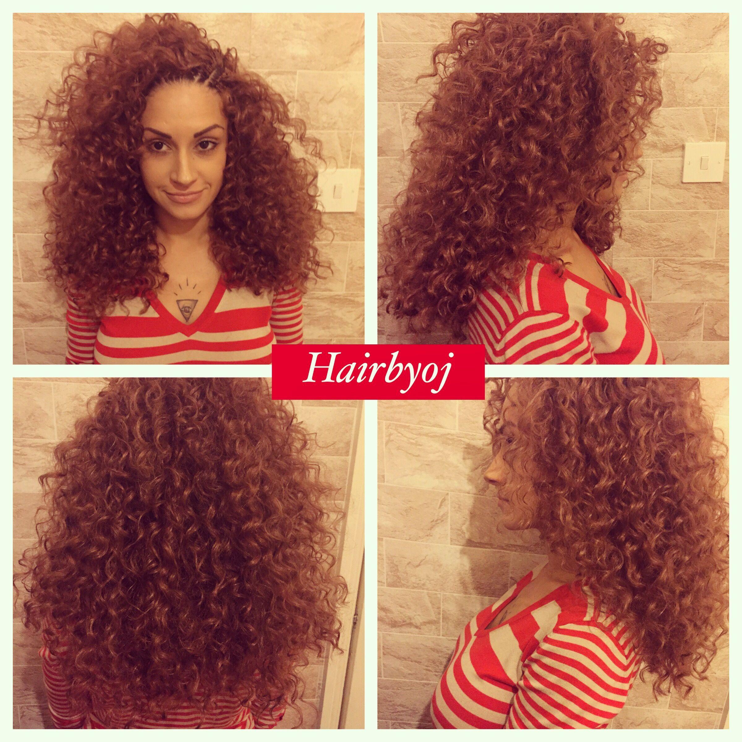 Shoulder Length Curly Crochet Braids With Layers Crochet Braids