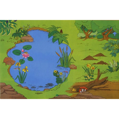 Zoomie Kids Imelda Play Mat Outdoor Floor Mats Nature Reserve Carpet Bowls