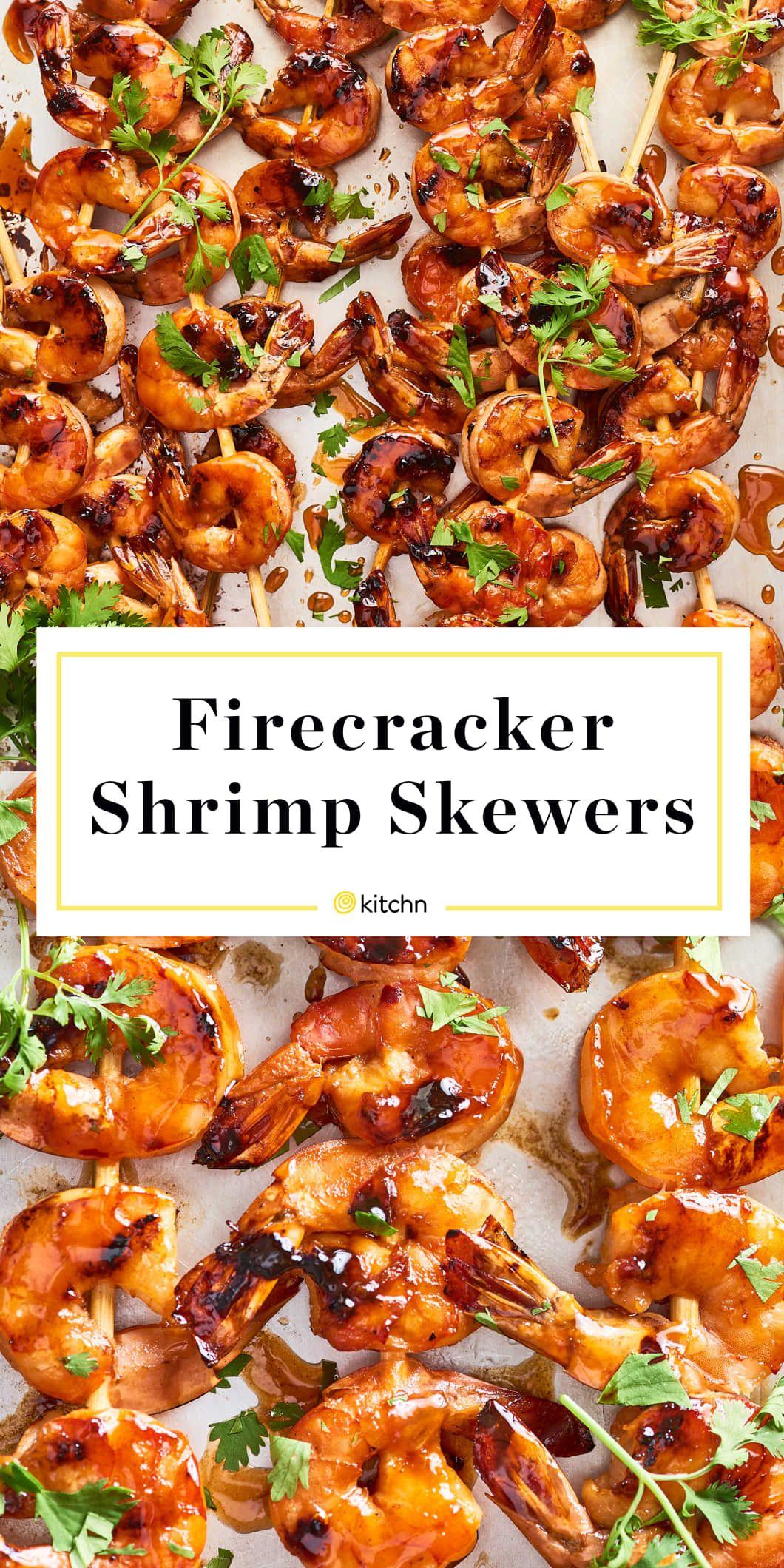 Recipe: Firecracker Shrimp Skewers