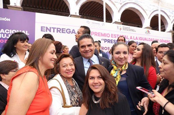 No habrá impunidad para quienes dañen a las mujeres: Silvano Aureoles