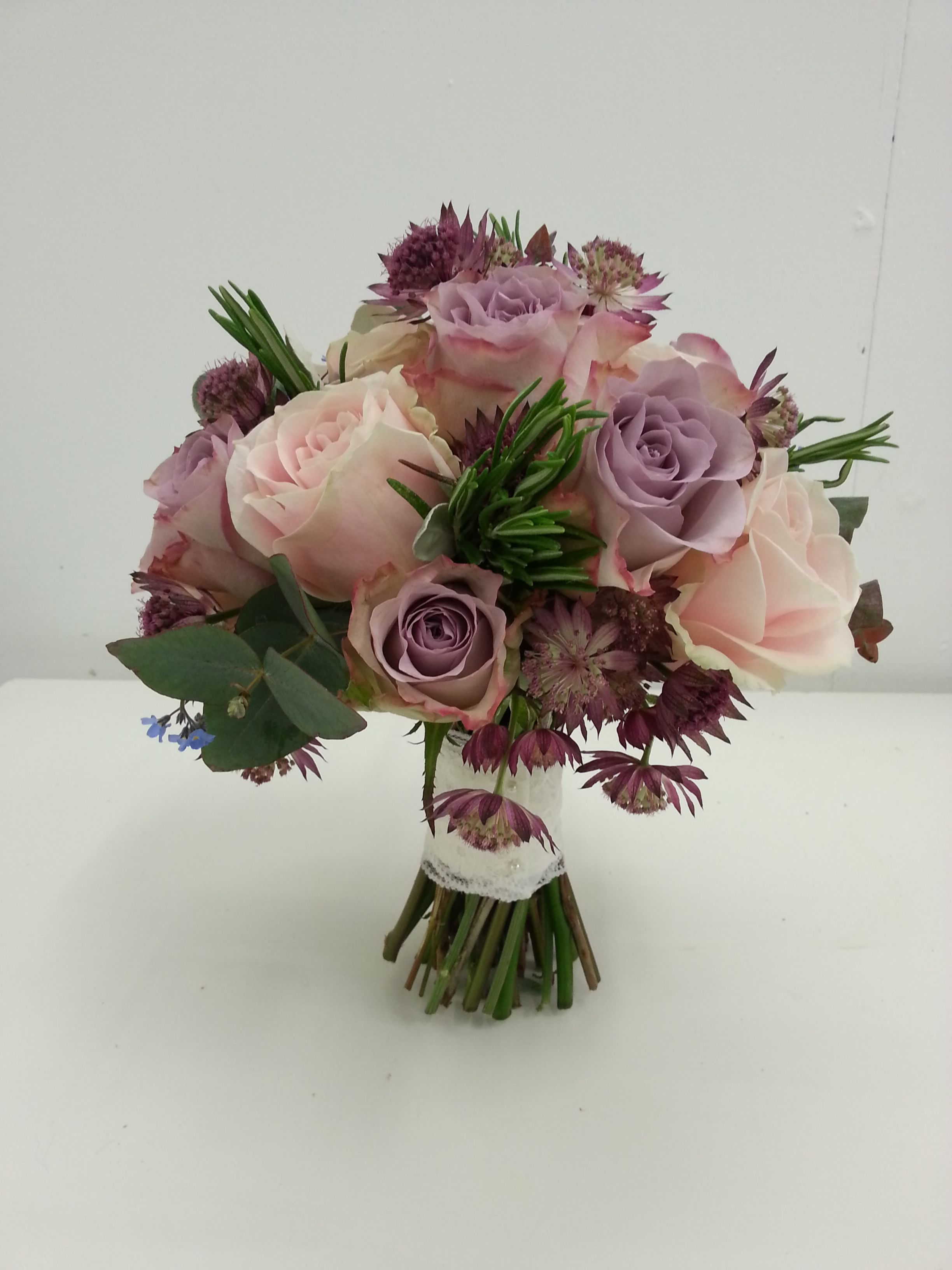 Floristry Courses Floristry Training Purple Wedding Bouquets