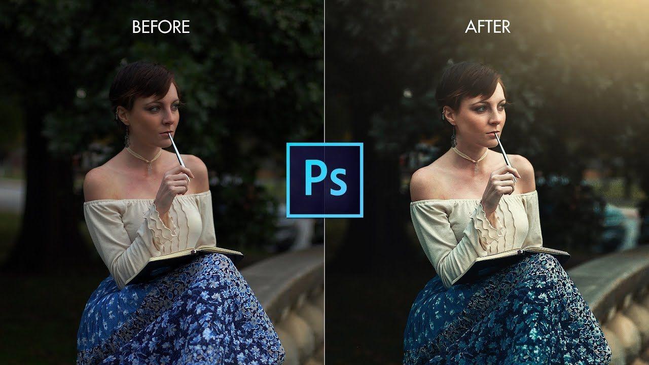 Photoshop Cc Tutorial Vintage Effect In Portrait In Photoshop Outdoor Photo Editing Photoshop Outdoor Photos