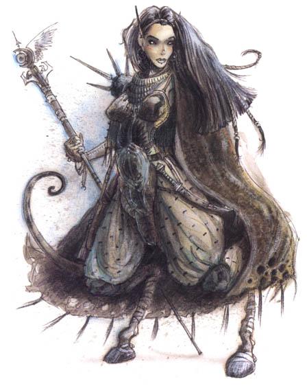 Factol Rhys / Transcendental Order / di terlizzi / Planescape / Factions of Sigil