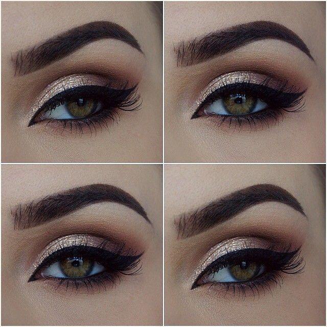 Simple Prom Eye Makeup MAC Cosmetics Pro Longwear Paint Pot In Soft Ochre LORAC