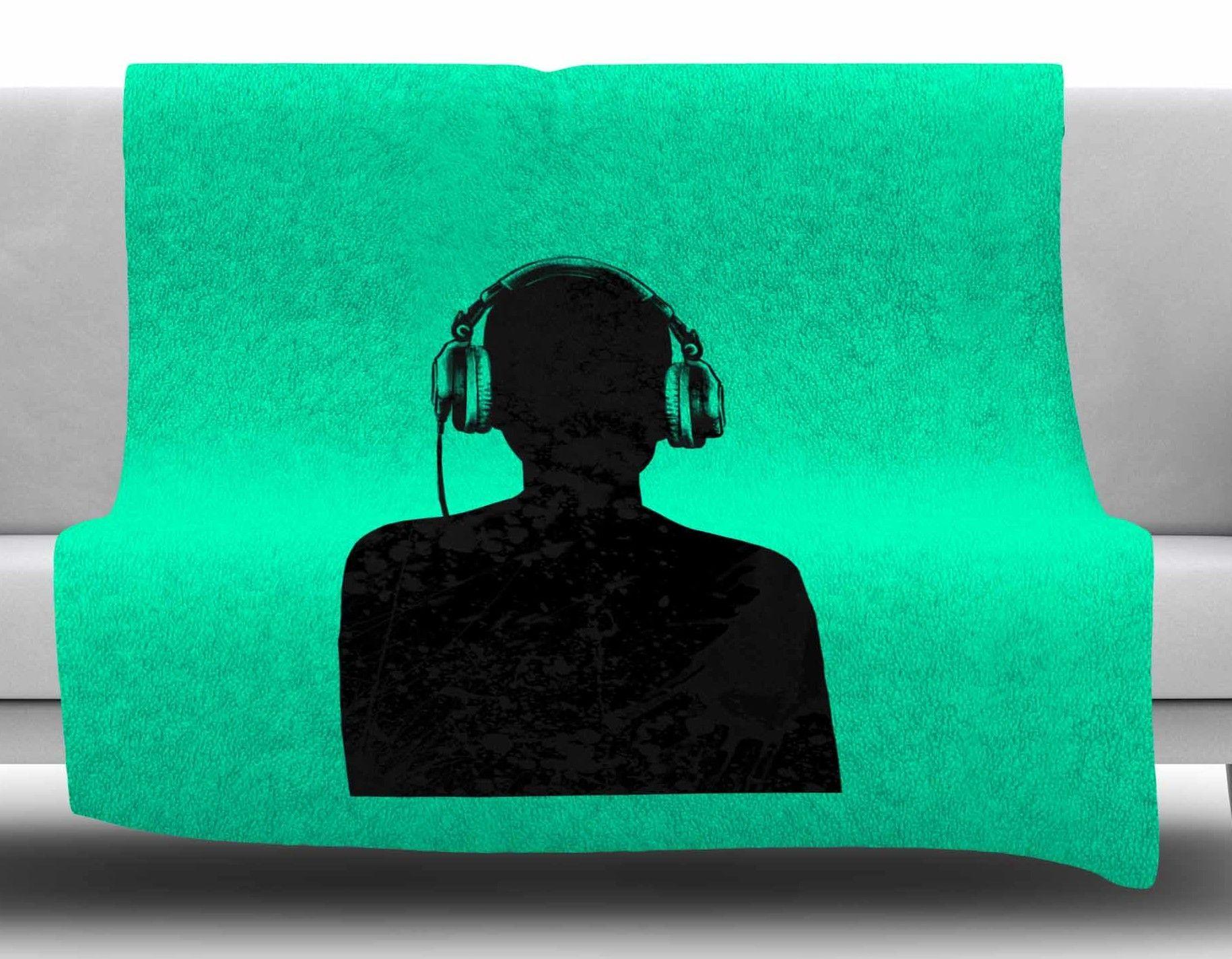 Music by BarmalisiRTB Fleece Blanket
