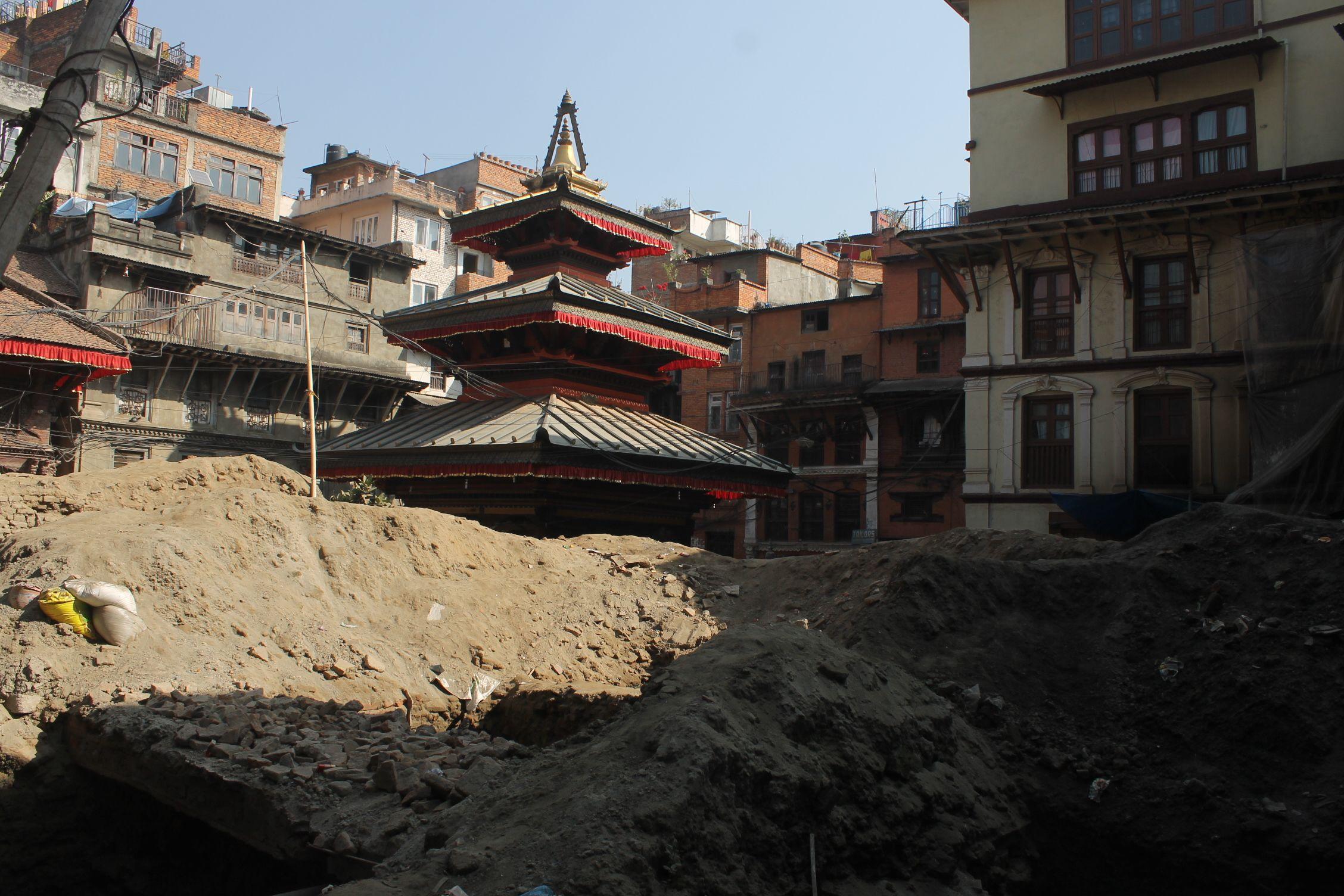 Por las calles de Kathmandu