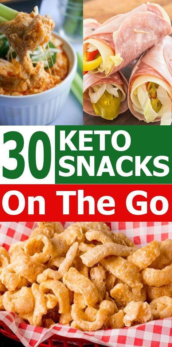 30 Schnelle und einfache Keto-Snacks für unterwegs - -