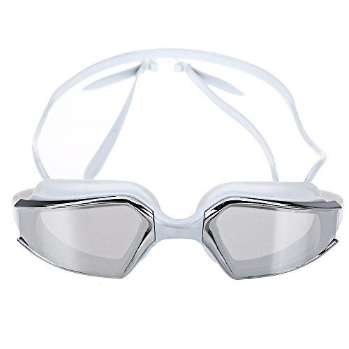 ELEOPTION TM UV protection Swimming goggles for adults fashionable  leisure style Gray -- Want additional info? Click on the image.