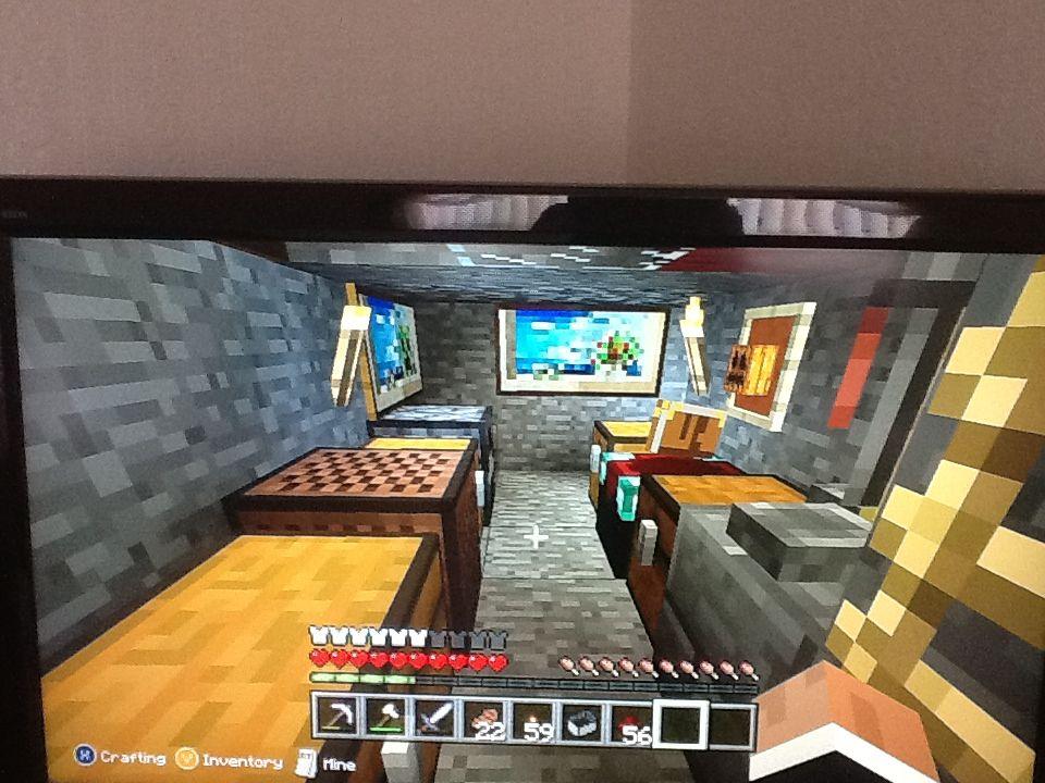 My Minecraft House Basement Bedroom D Basement House Basement