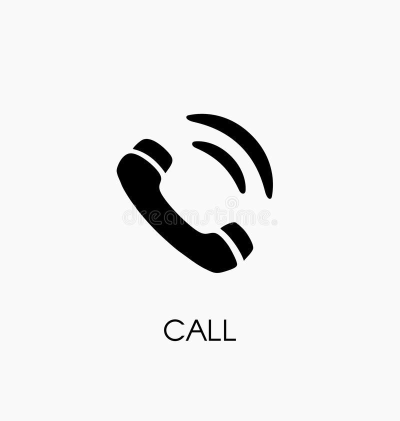 Phone Call Icon Vector Illustration Telephone Symbol Aff Icon Call Phone Vector Symbol Ad Vector Illustration Icon Symbols