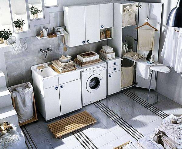 30 idées d\'aménagement de buanderie - Moderne House | Buanderie ...
