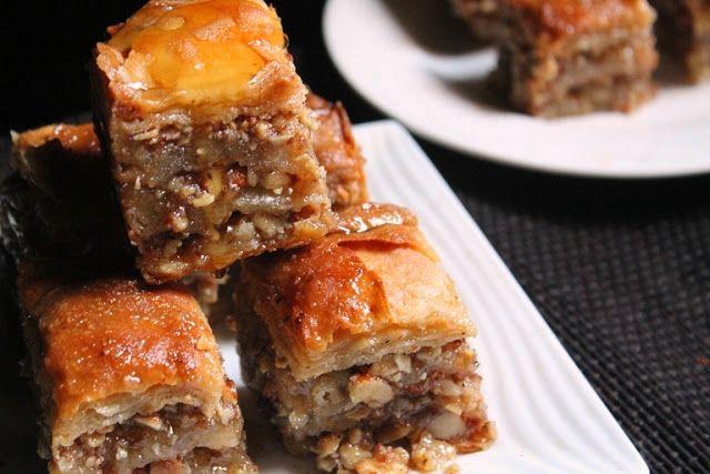 YUMMY TUMMY: Baklava Recipe - How to Make Baklava From Scratch - Baklava with Homemade Phyllo Pastry