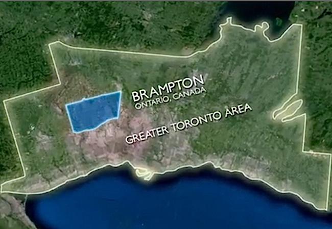 Location Spotlight Of The Week City of Brampton Ontario Canada