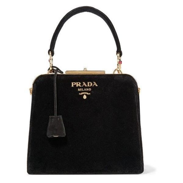 crystal embellished shoulder bag - Black Prada u888VoQFu