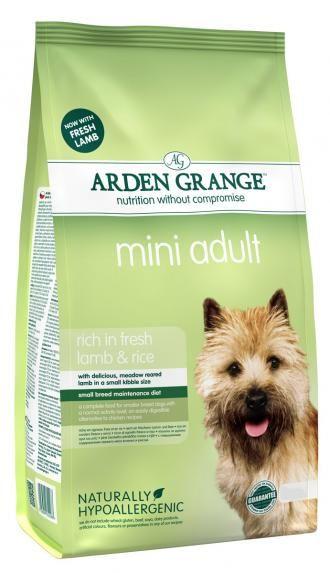 Arden Grange Pienso Perro Adult Mini Lamb Rice Con Cordero
